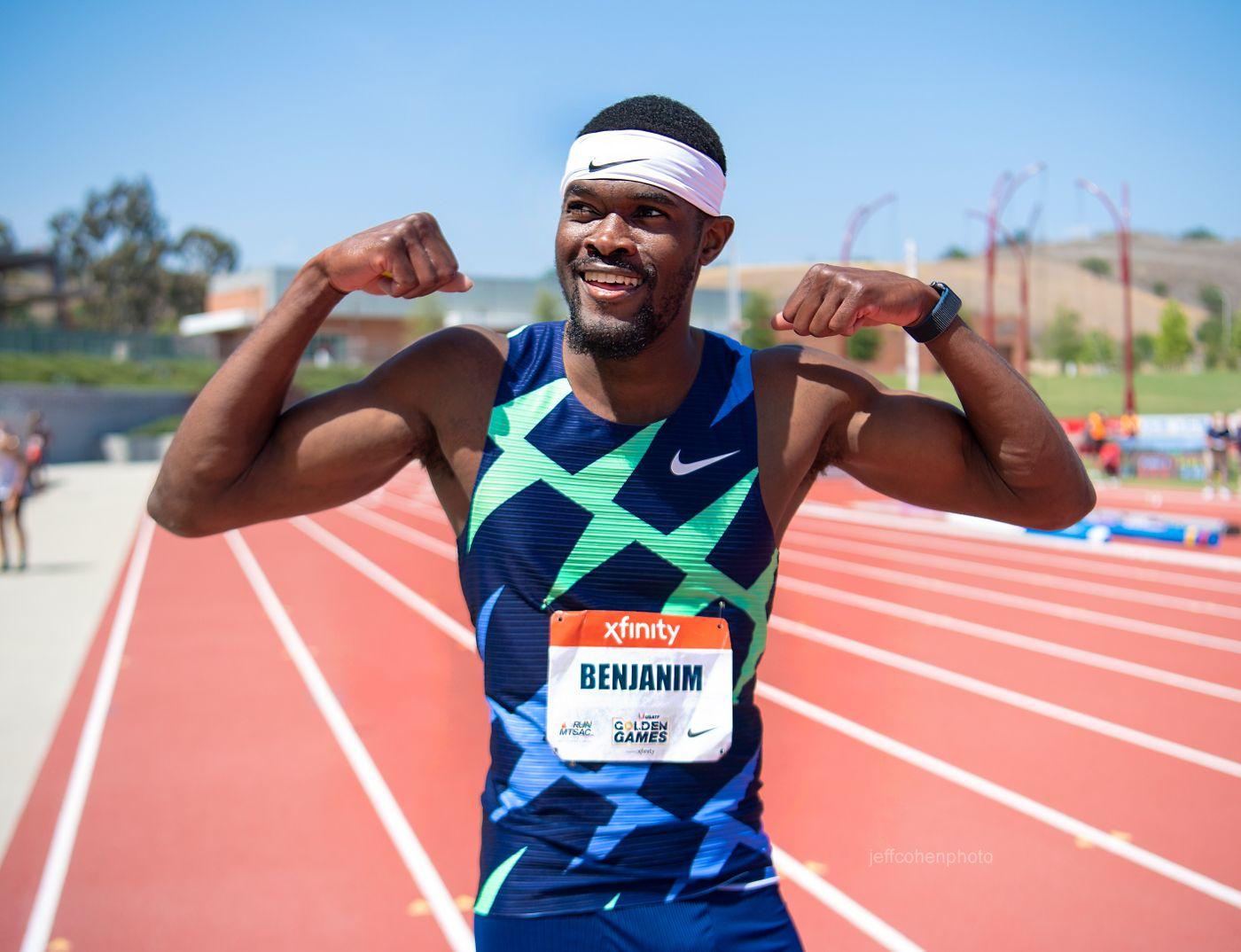 Rai Benjamin, 400 meter hurdles, 2021 USATF Golden Games