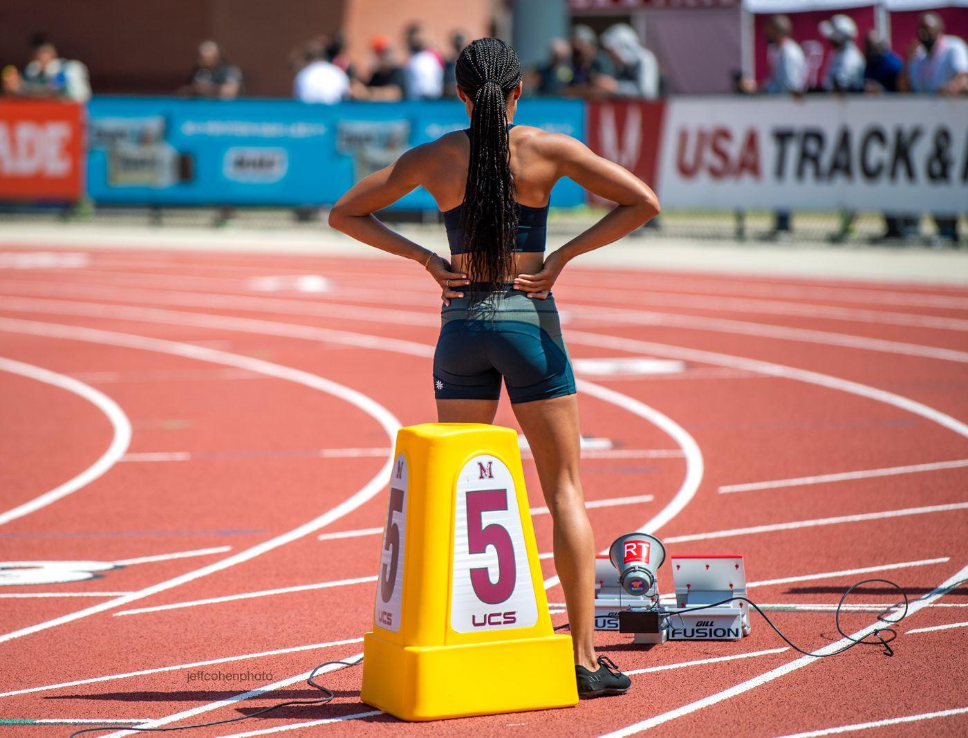 Allyson Felix, 200 meters, 2021 USATF Golden Games