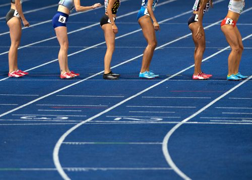 4x400m relay women 2018 IAAF European championships, Berlin.