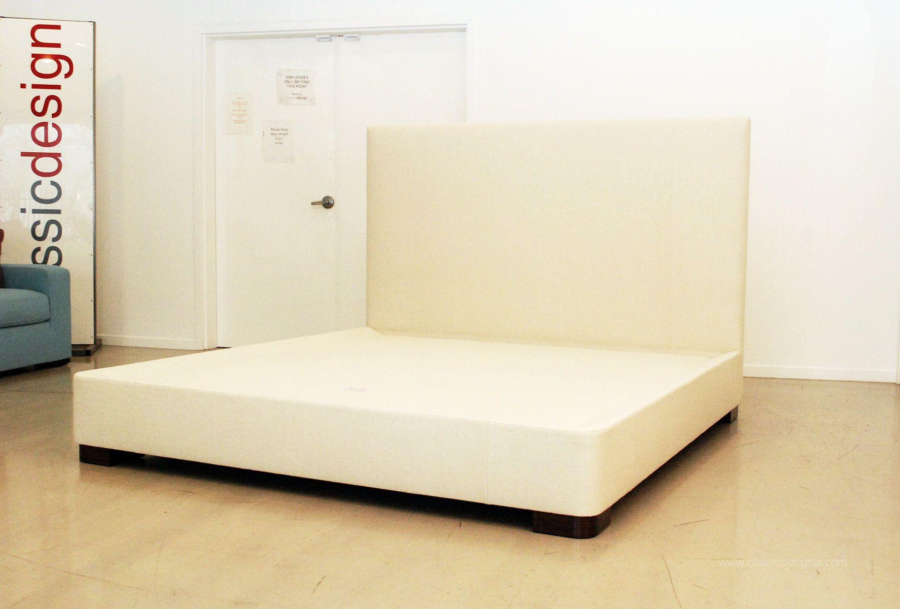 Custom King Size Upholstered Bed