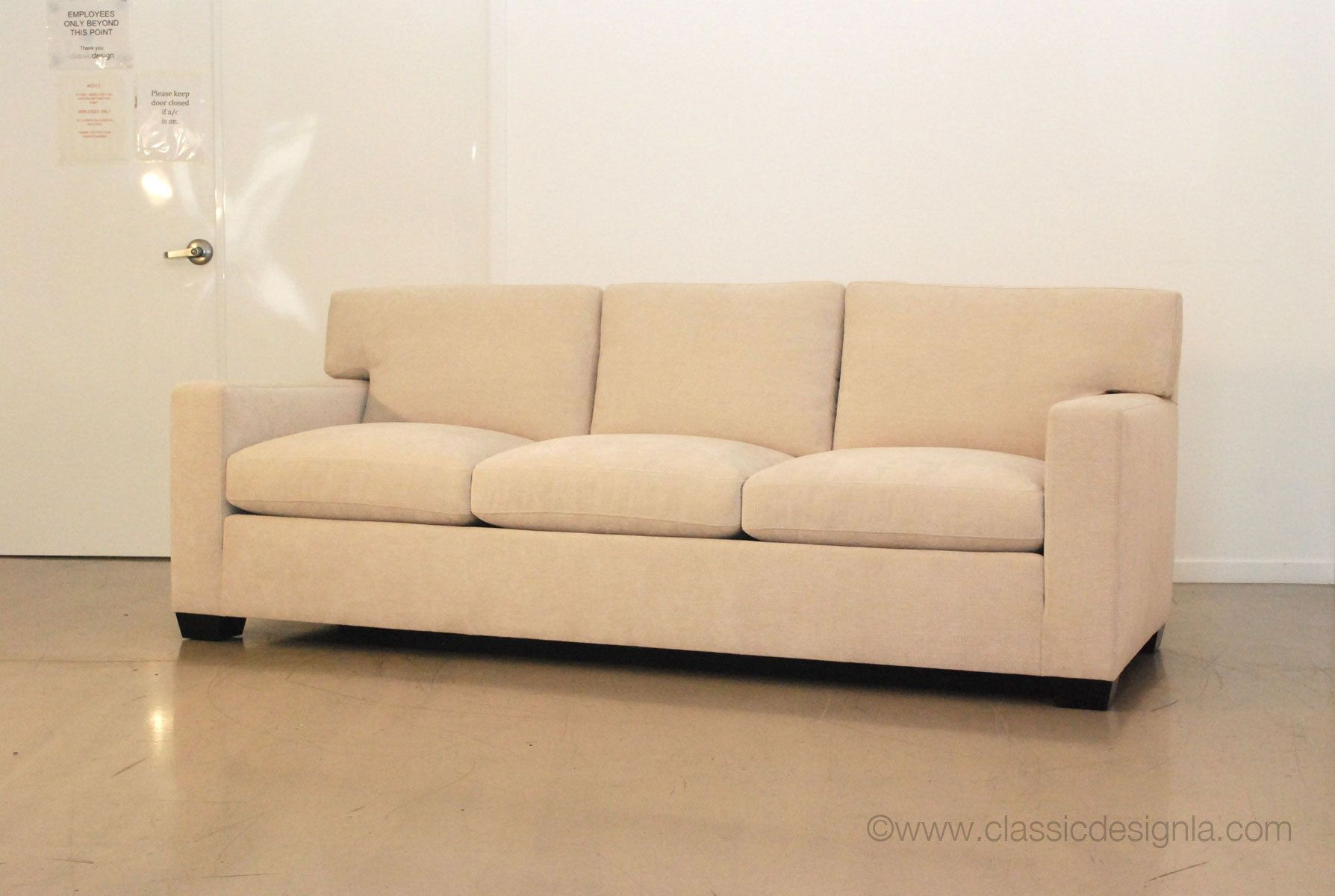 Custom Jean-Michel Frank sofa