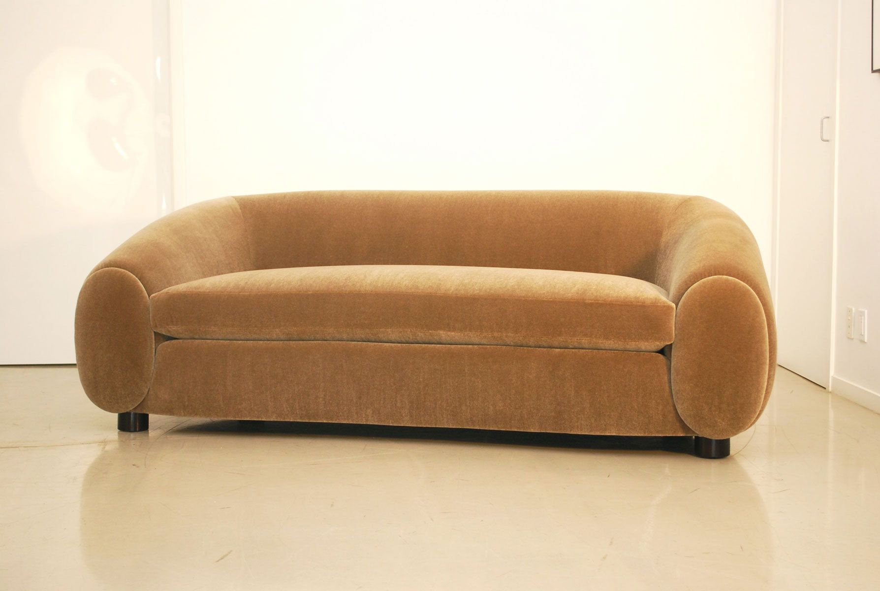 Custom Jean Royere-inspired Sofa