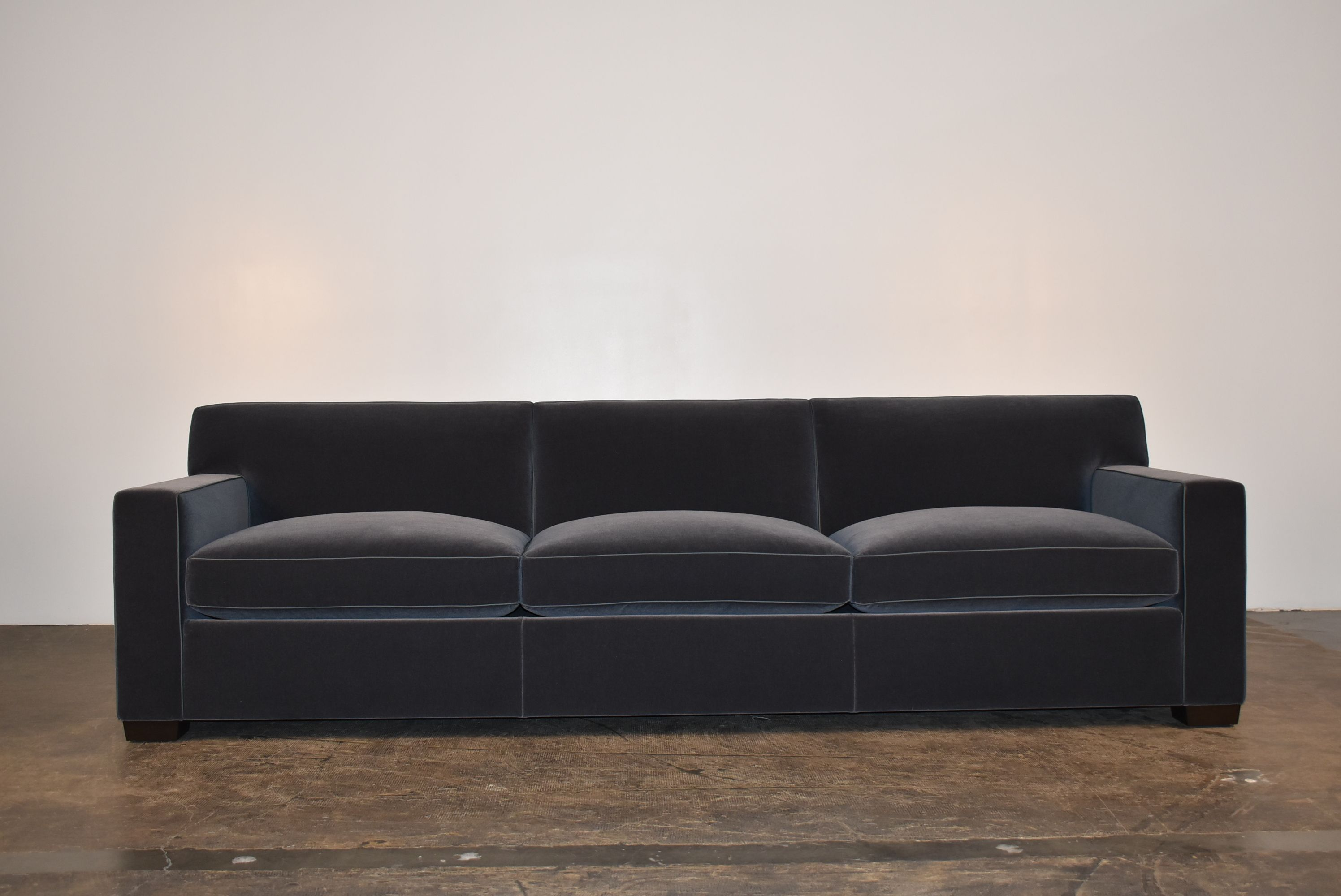JMF Sofa w/ Leather Welt