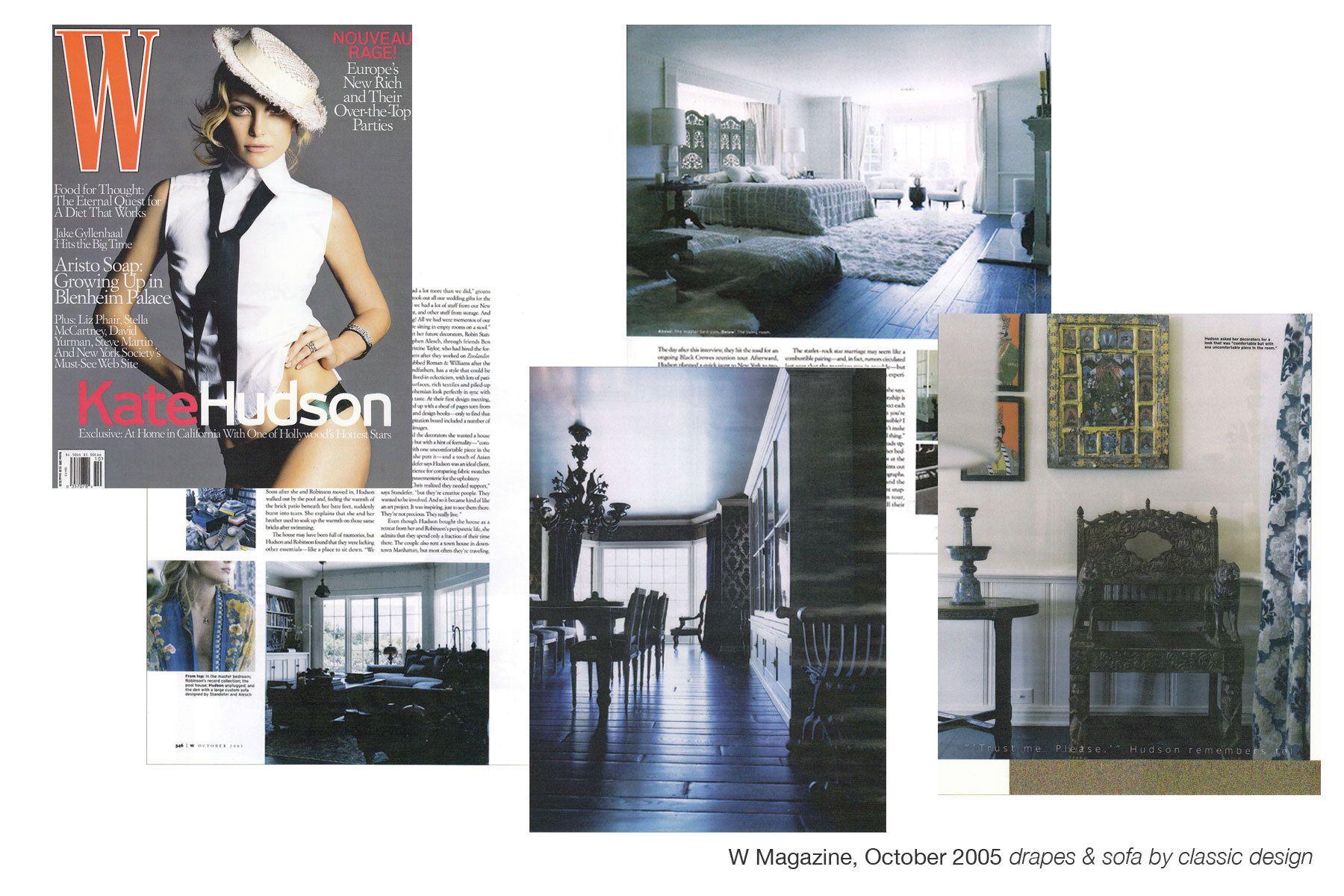 W Magazine, October 2005
