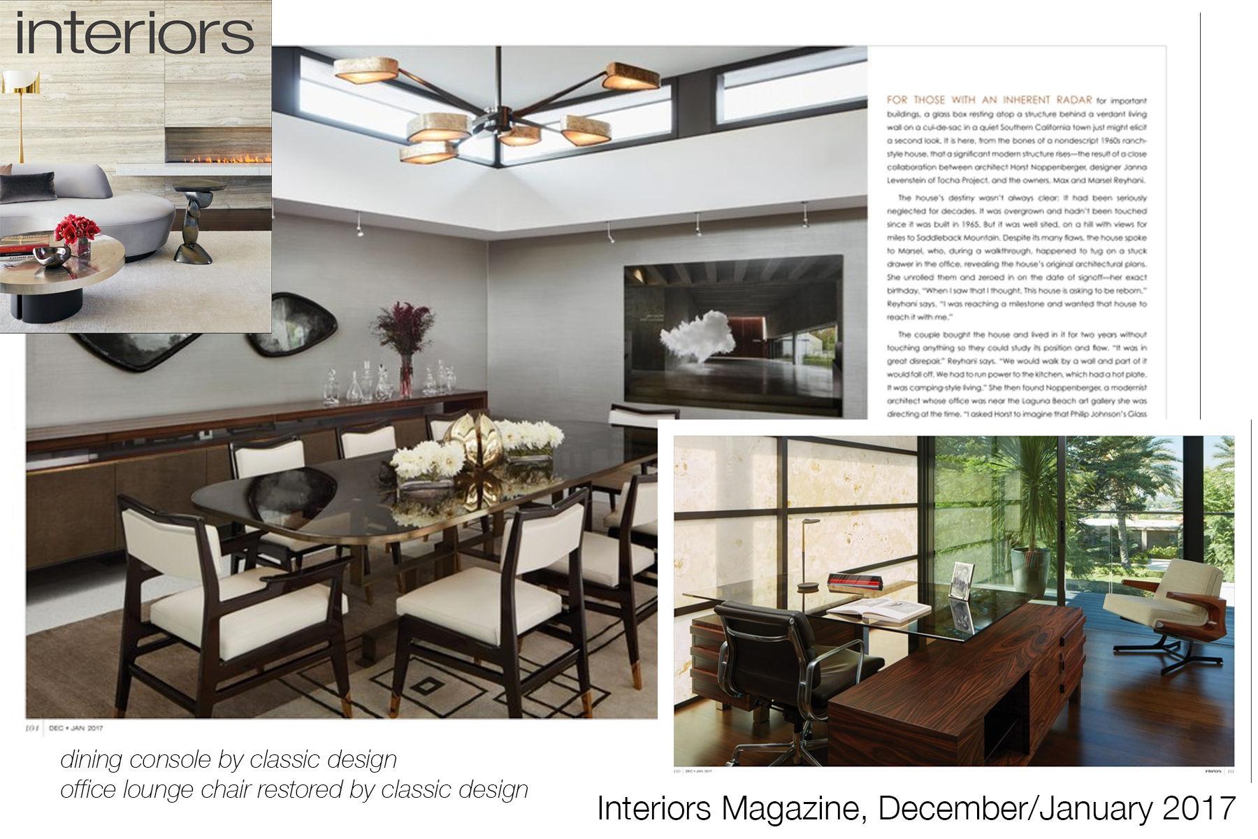 Interiors Magazine - December/January 2017