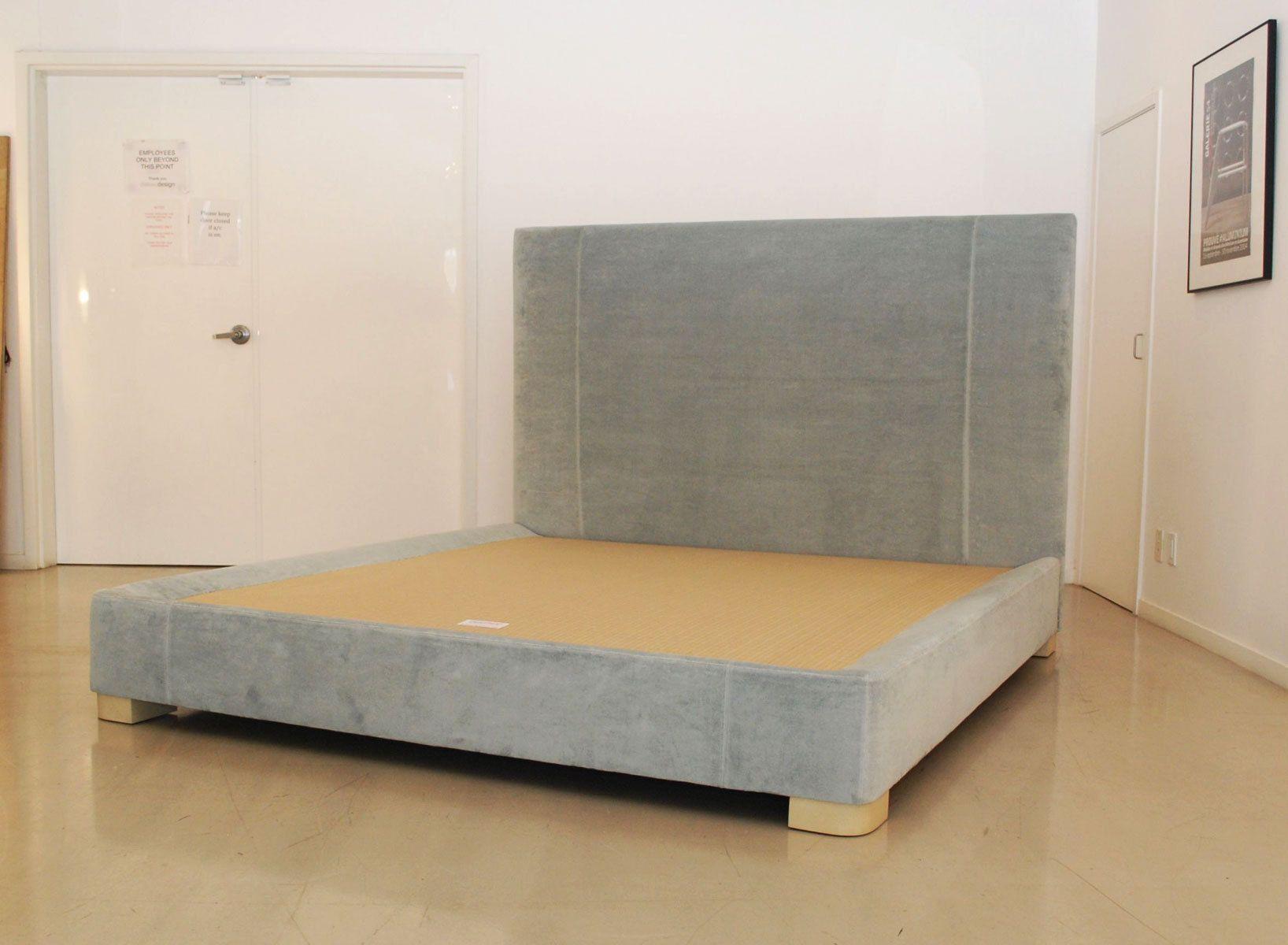 Custom Upholstered Headboard & Bed base