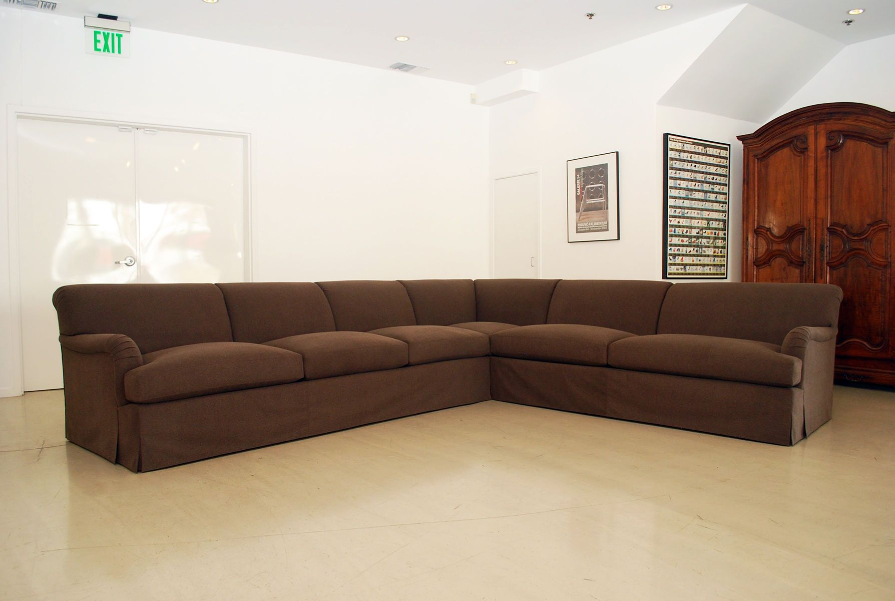 Skirted Sectional Sofa