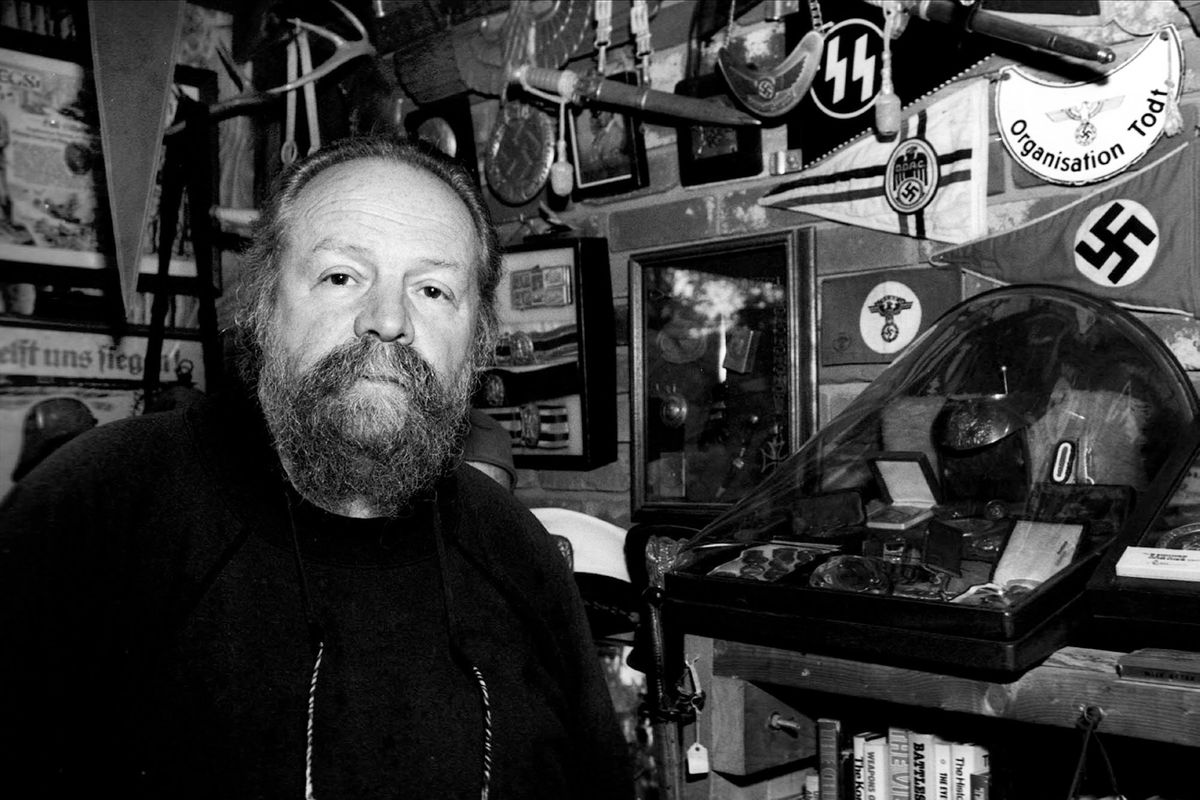 A former Klan member and Ku Klux Klan and Nazi memorabilia collector.  Maine 2002