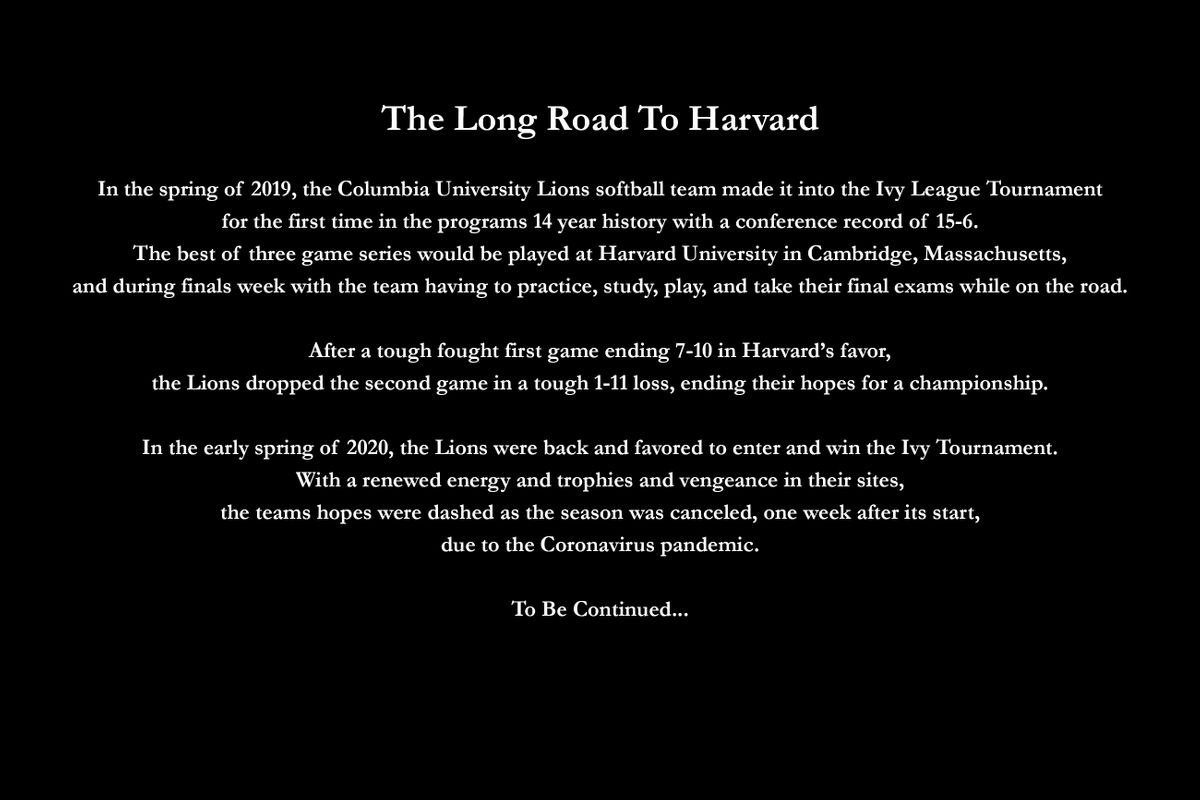 The Long Road To Harvard