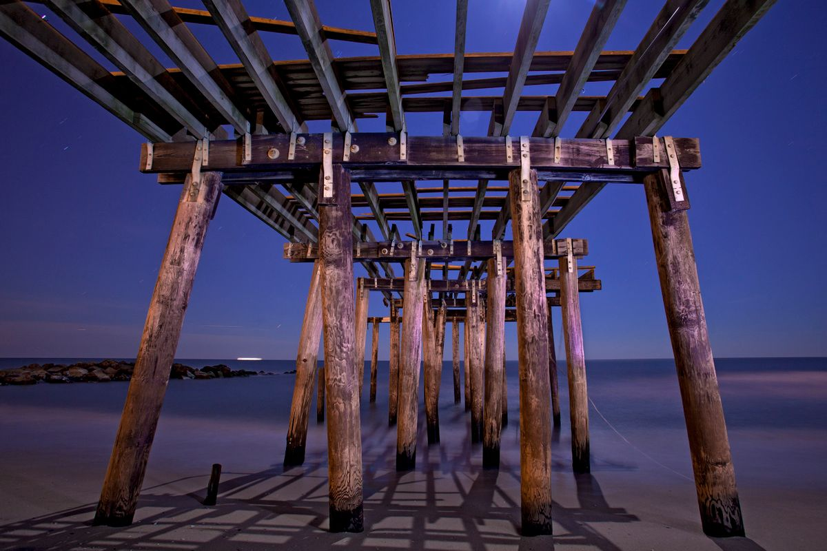 Ocean Grove Pier. Ocean Gove, New Jersey
