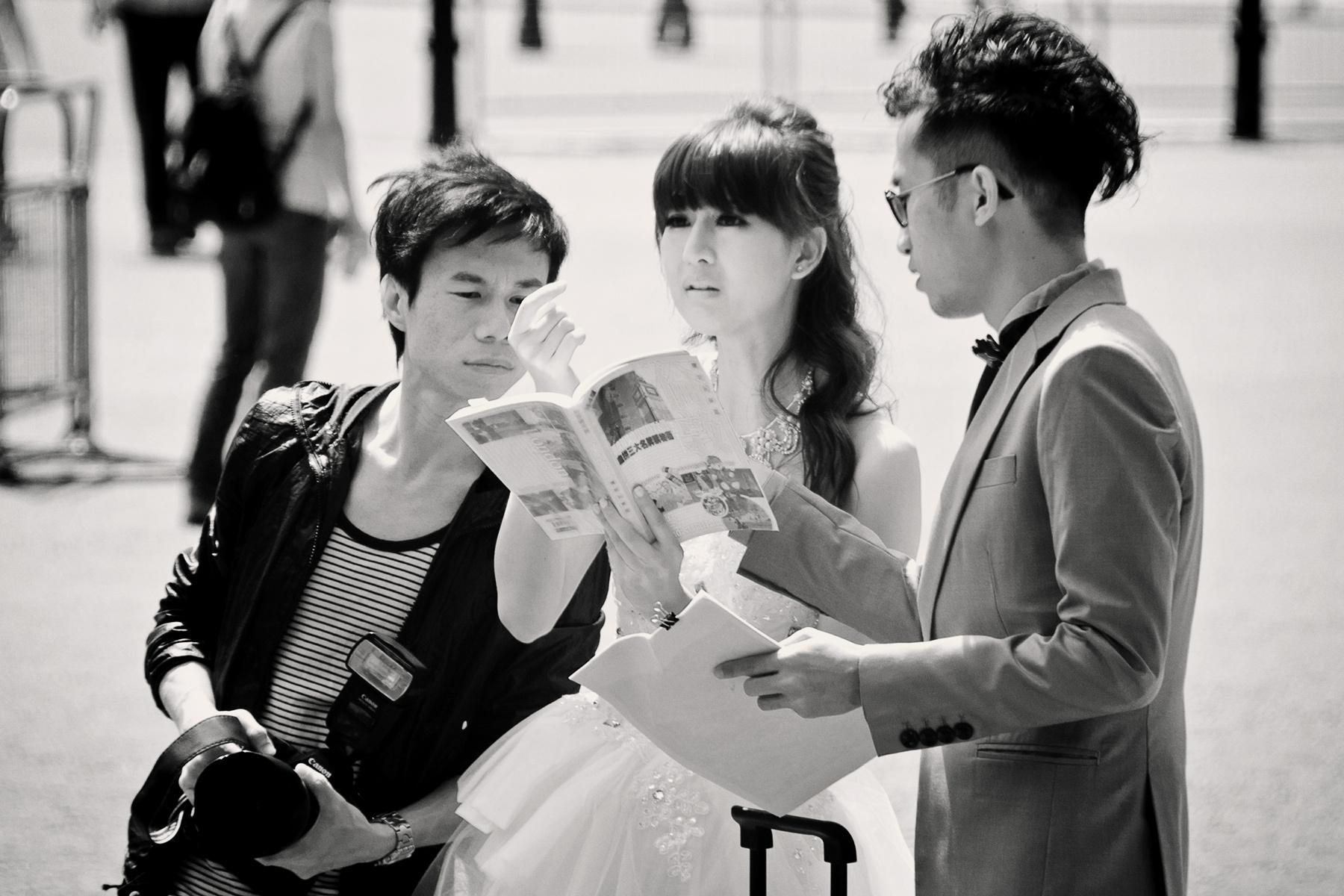 Wedding Photographer lost in London
