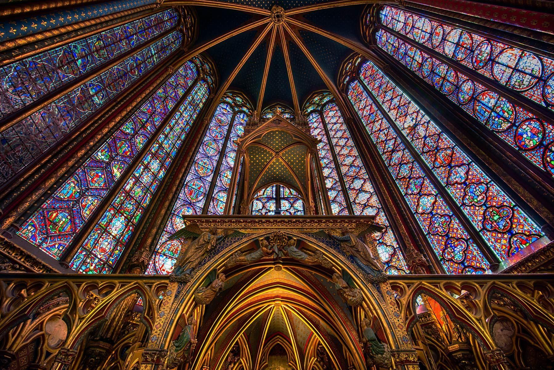 Ste. Chapelle, Paris, France