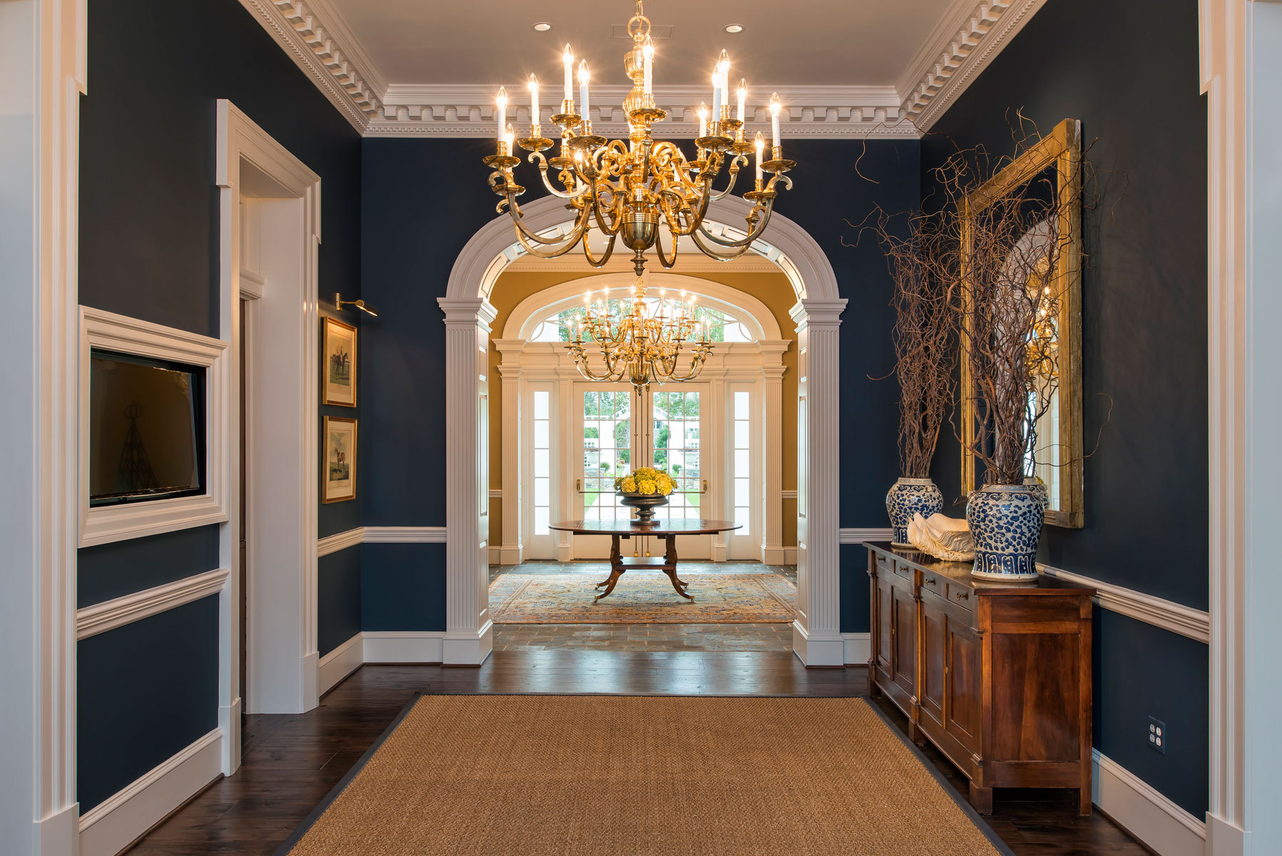 The Sycamore House at WillowsfordInterior Design: Marlene DennisArchitects: Rust Orling
