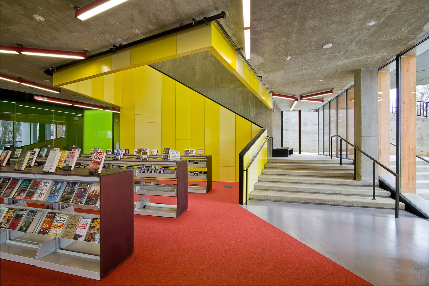 William O. Lockridge LibraryWashington, DCArchitect: David Adjaye, Adjaye Associates