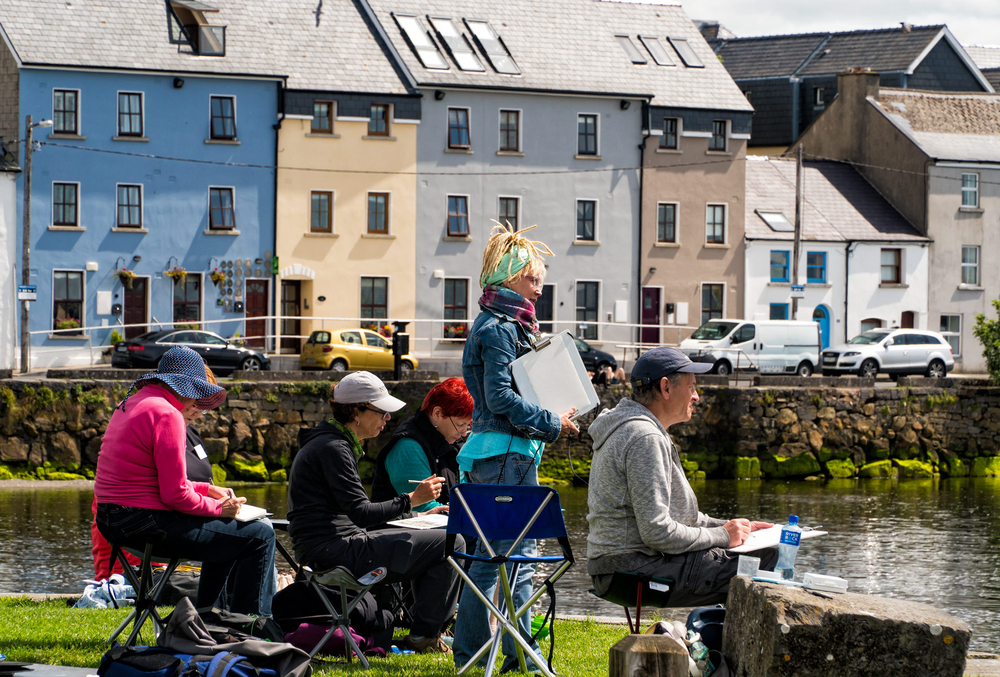 Outdoor Painting in Galway