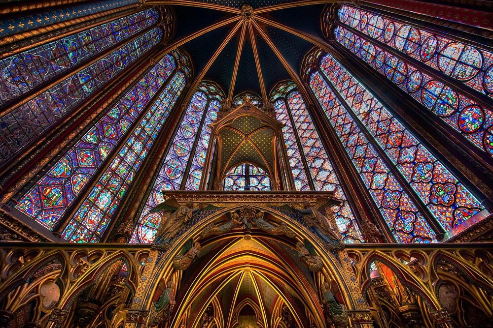 Ste. Chapelle, Paris, France
