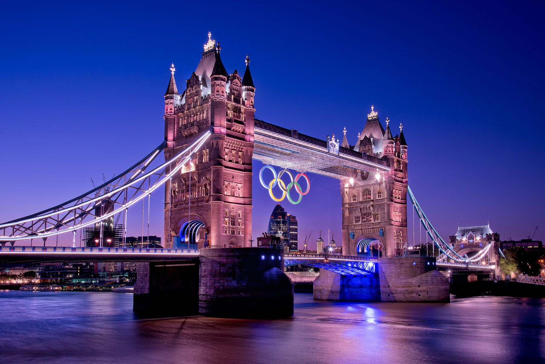 Tower Bridge, 2012 London Olympics