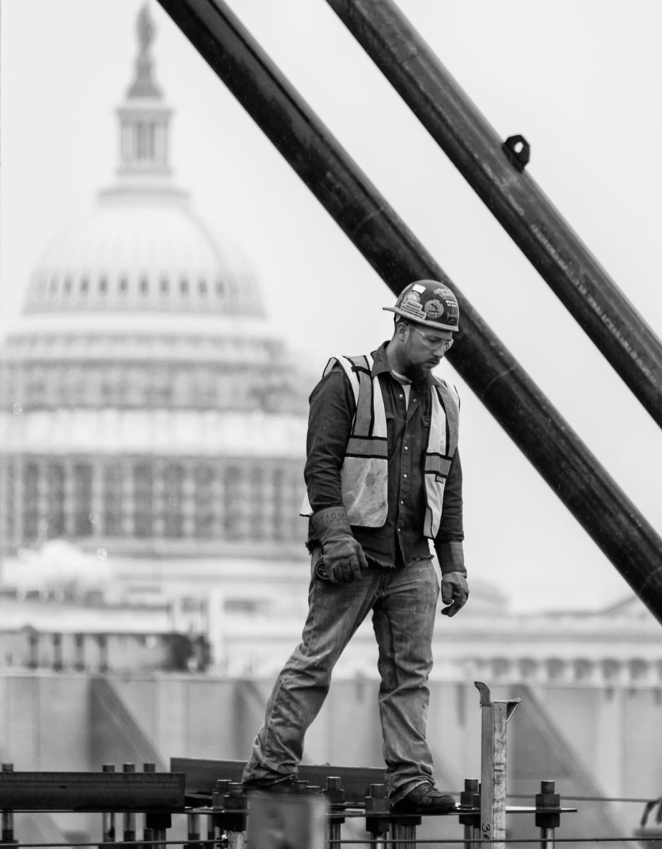 Construction Worker at US Capitol