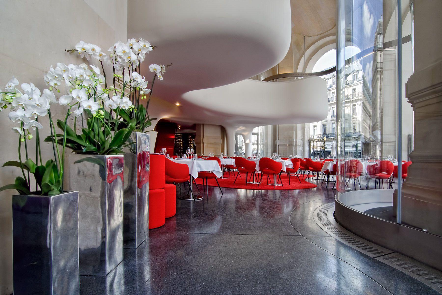 L'Opera Restaurant, ParisArchitect: Odile Decq