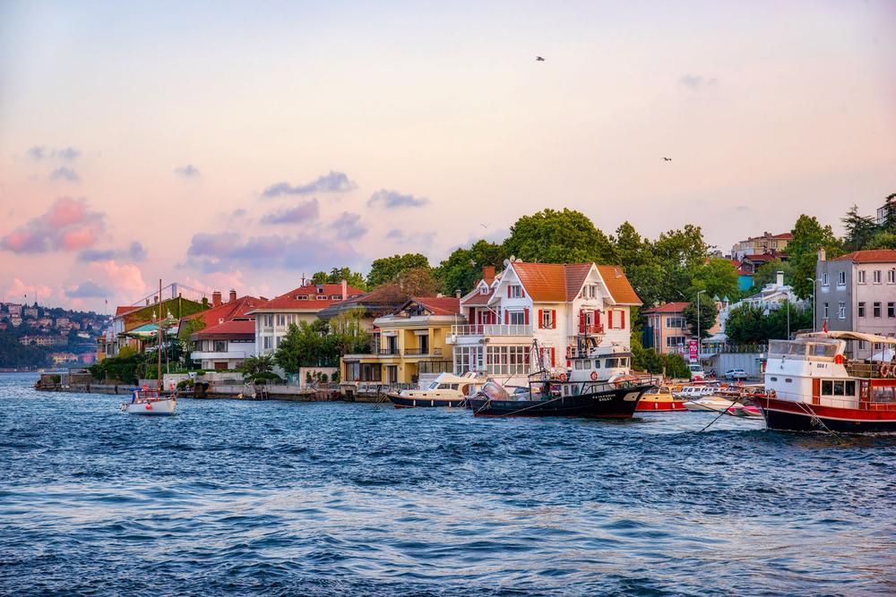 Bosphorus Sea, Turkey