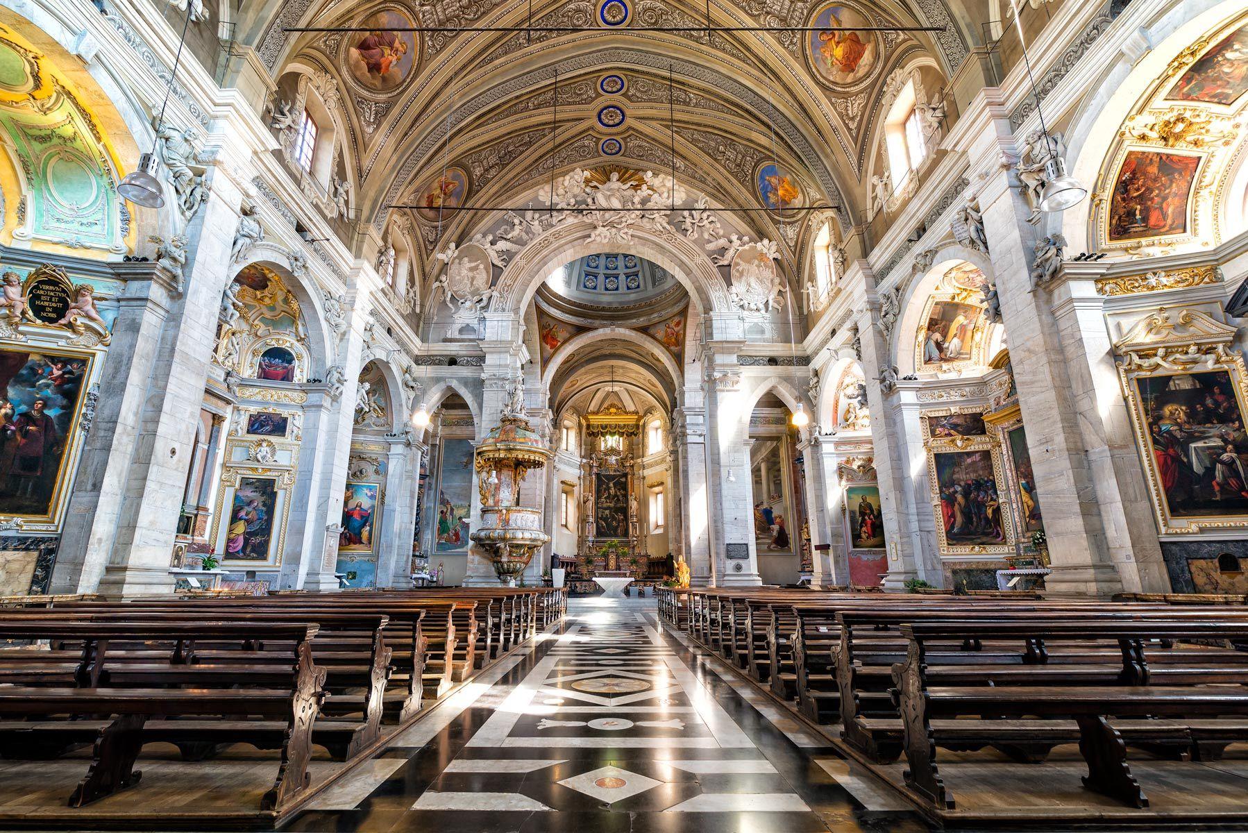 Collegiata Church, Bellinzona, Switzerland