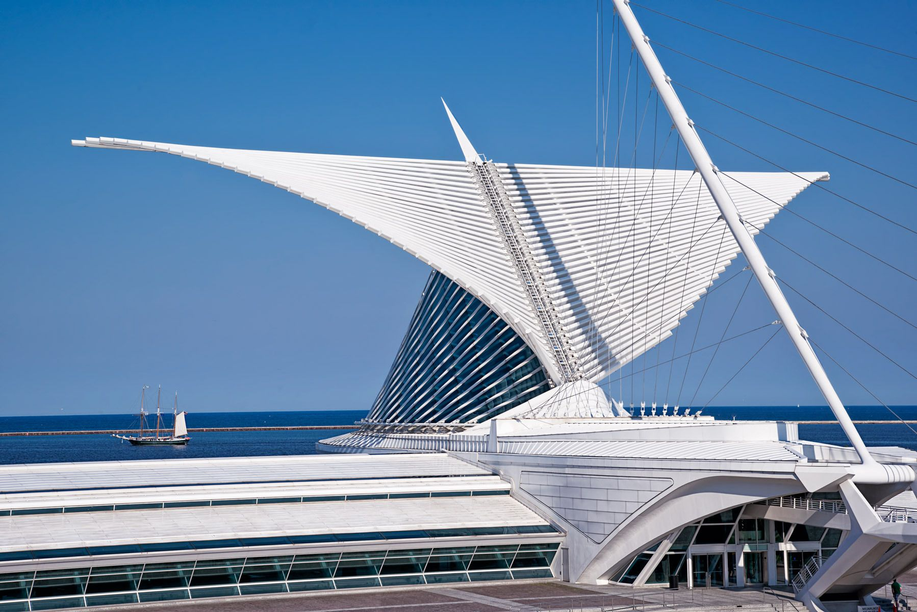 Milwaukee Art MuseumArchitect: Santiago Calatrava