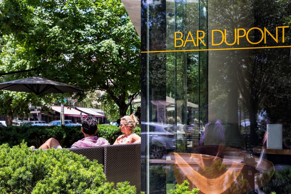 Couple at Bar Dupont in Dupont Circle