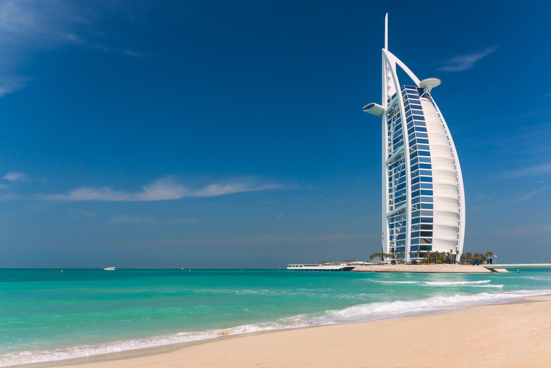 Burj Al Arab Hotel, Dubai, UAE