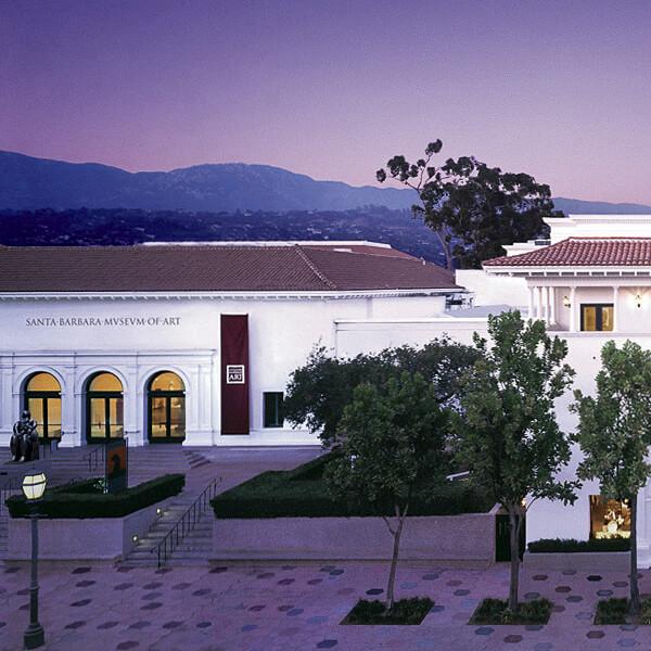 THE SANTA BARBARA MUSEUM OF ART