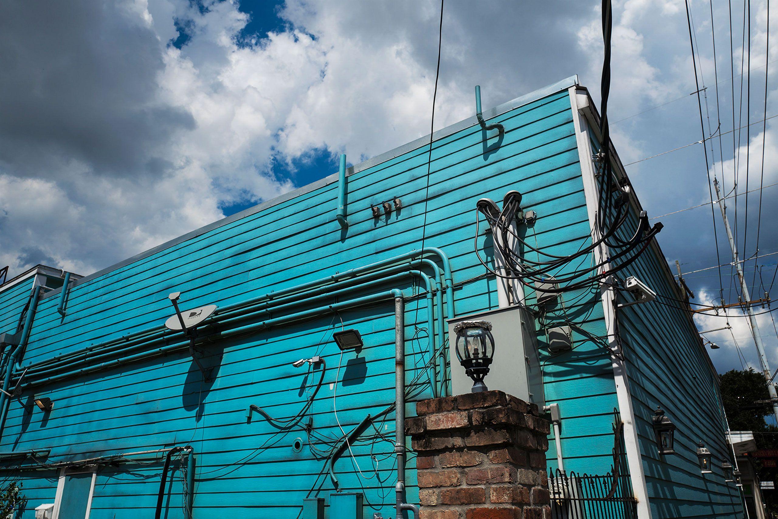 Aqua building façade NOLA