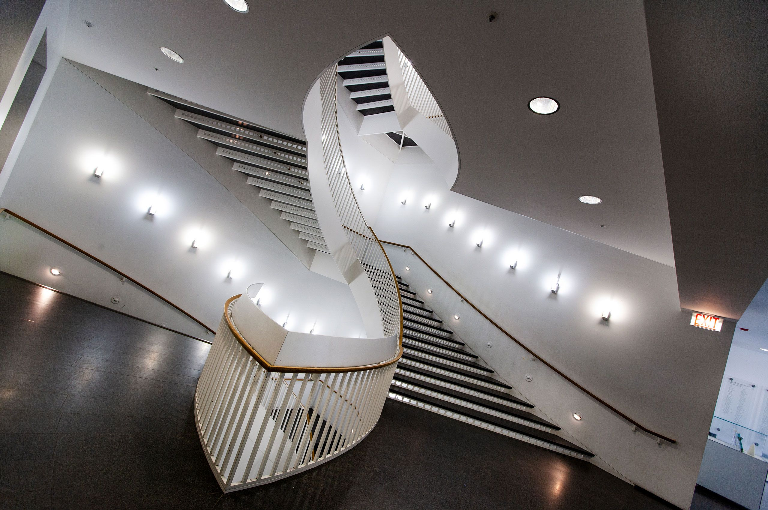 staircase Museum Of Contemporary Art Chicago