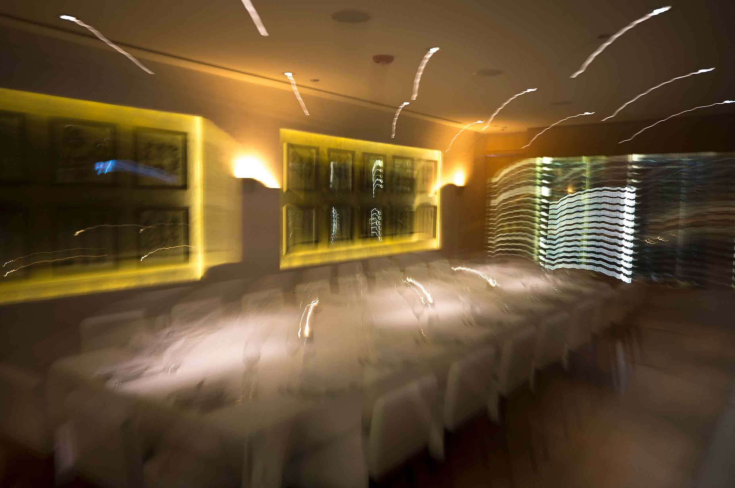 private dinging room in Fig and Olive  restaurant in Chicago