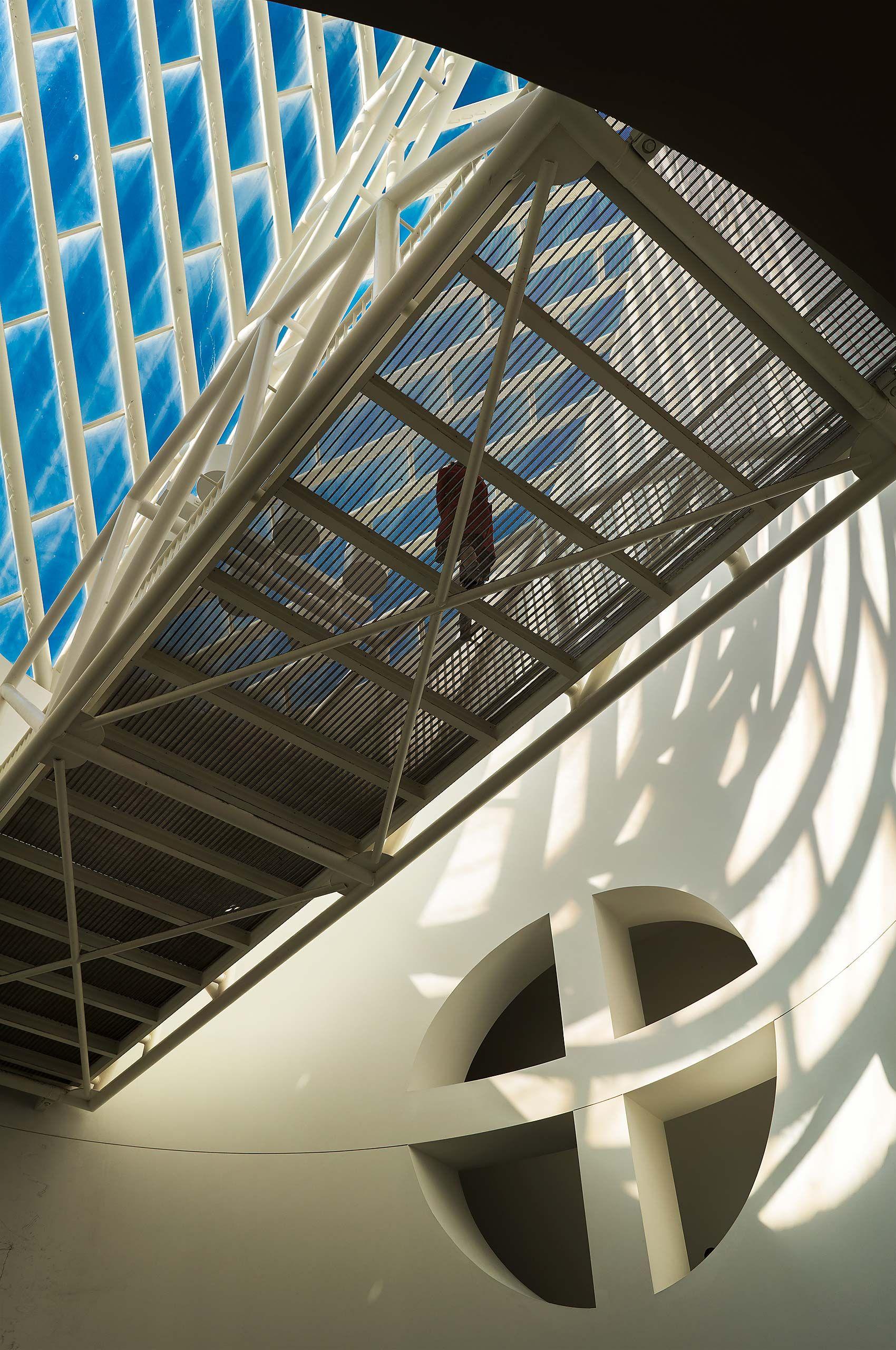 San Francisco Museum of Modern Art SFMOMA SF Moma  Mario Botta  architect skyway