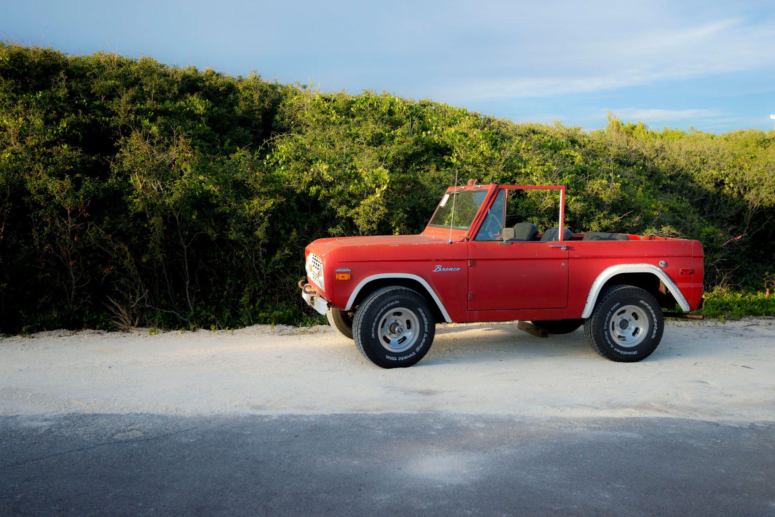 Ford Bronco Santa Rosa Beach Florida Blue Mountain Beach