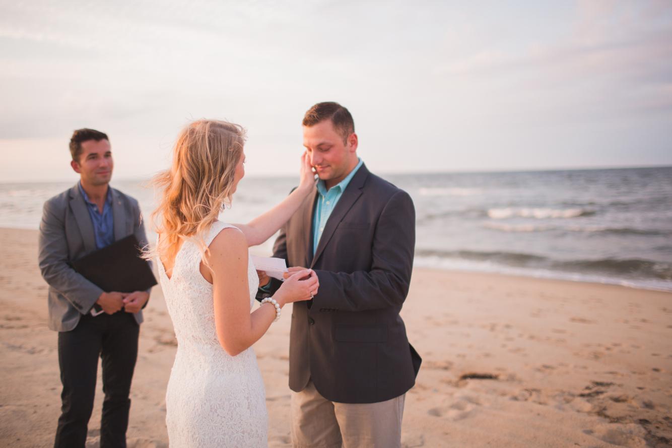 Mandalyn & Jordan Norfolk Virginia Oceanview Beach Elopement Andrew & Tianna Hampton Roads Wedding Photographers-17.jpg