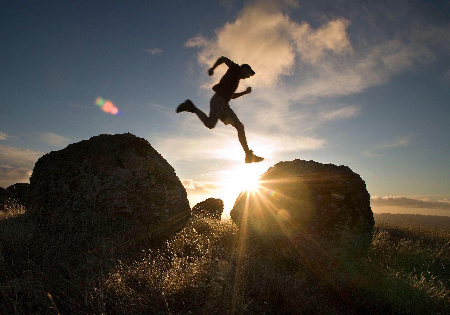 Boulder Hopping, Mt. Tamalpais State Park, CA