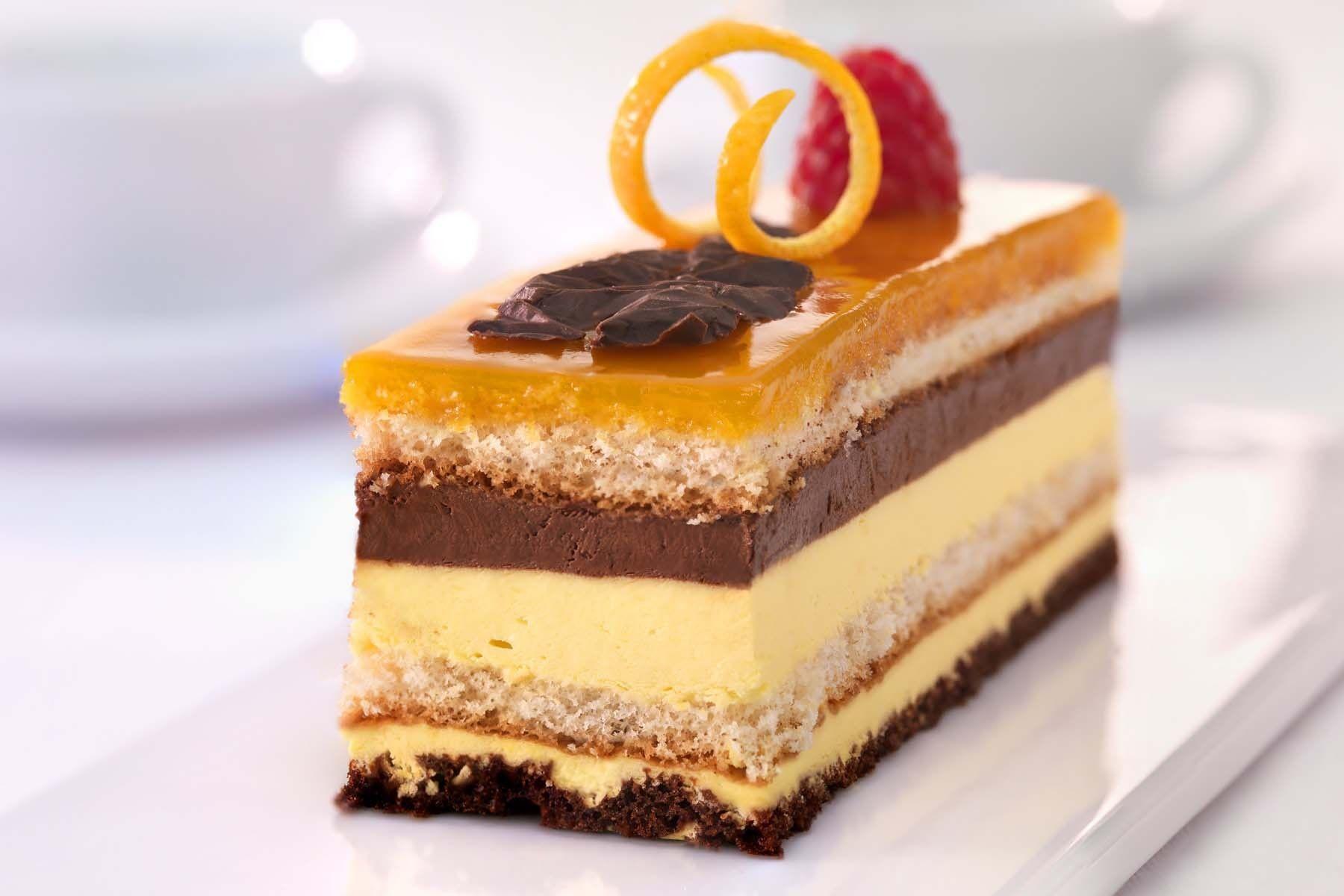 Chocolate & Orange Dessert.