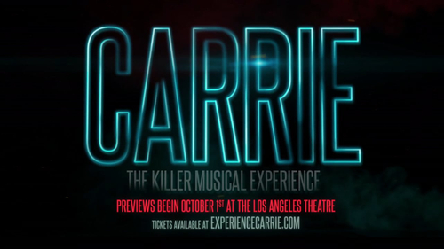 Carrie: The Musical Teaser