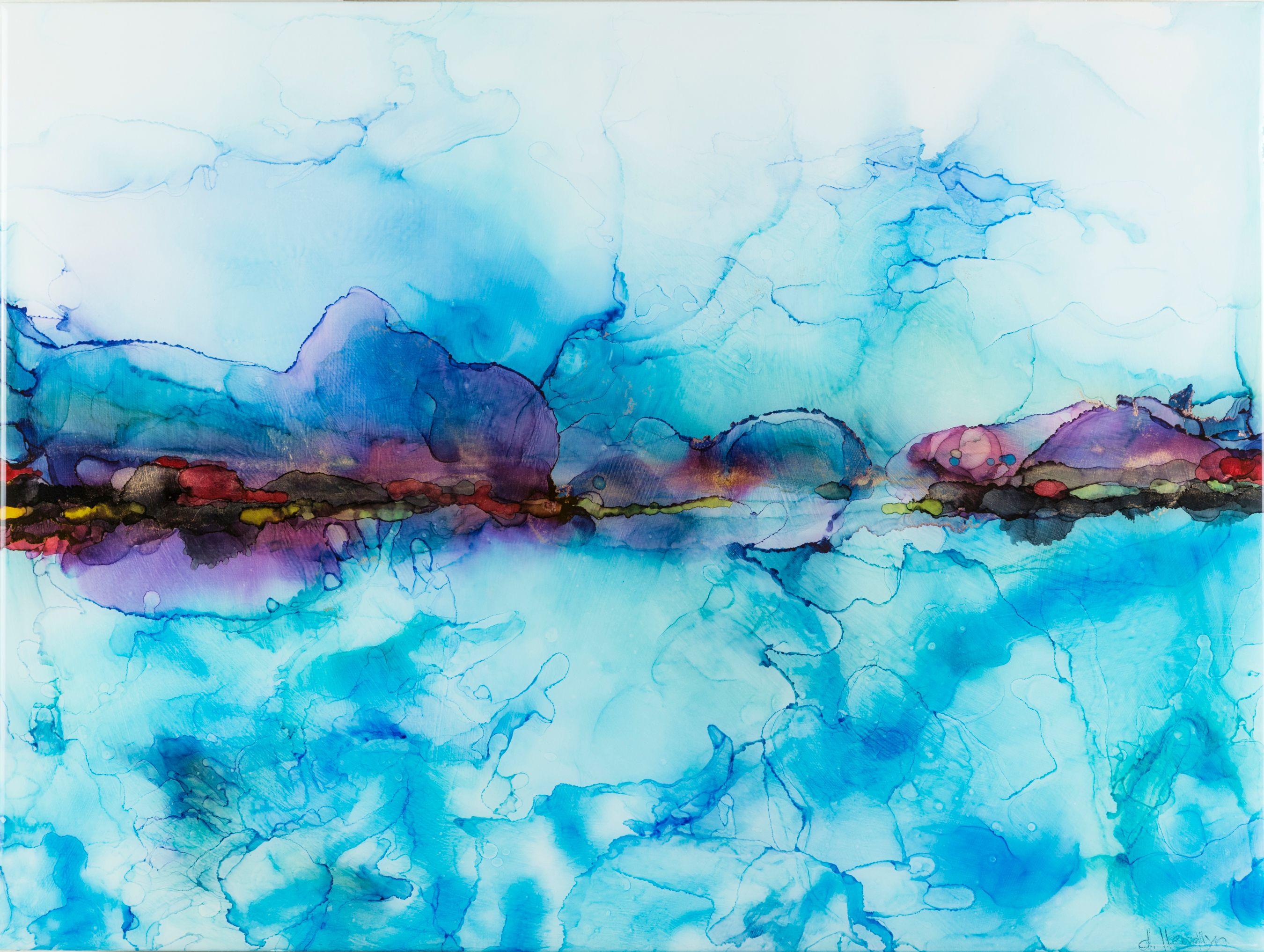 """Sea Water    18"""" x 24"""""""