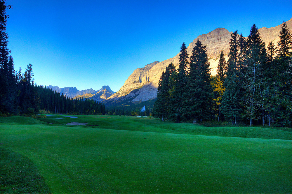 Hole #1, Kananskis Golf and Country Club, Mount Lorette Course