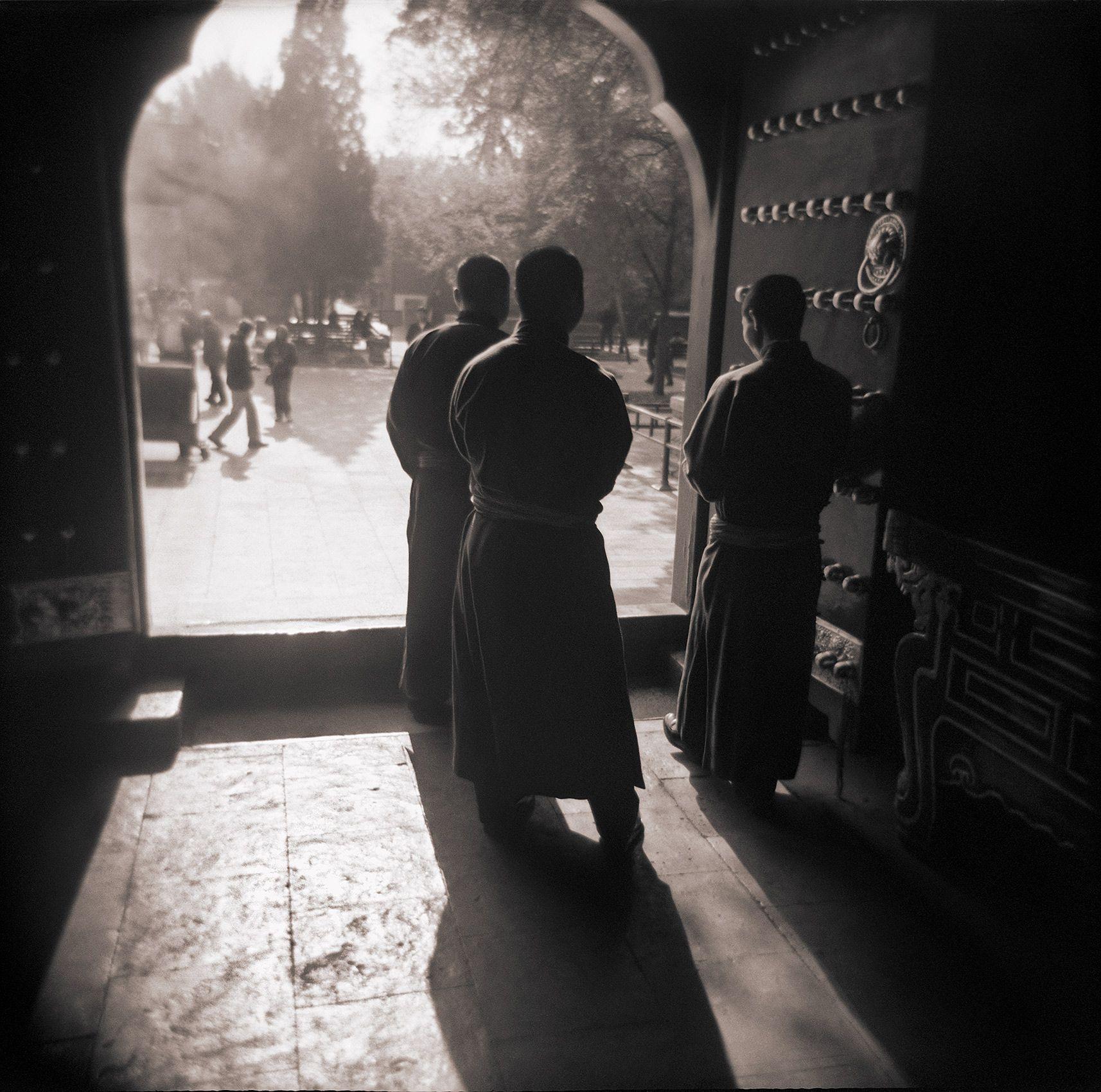 Llama Temple Monks