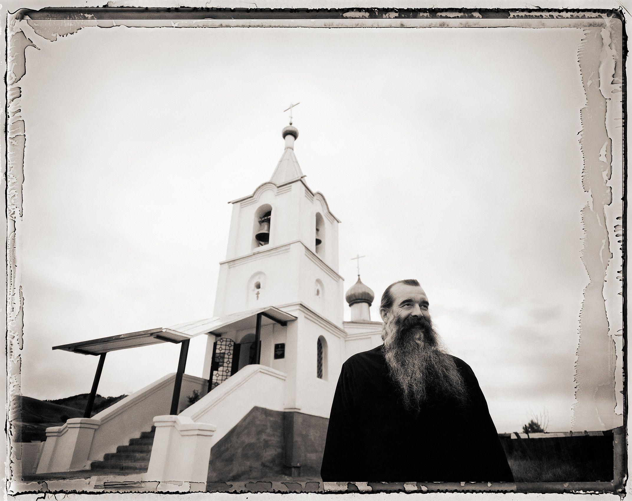 Father Sergeii, Tarbagatai, Russia