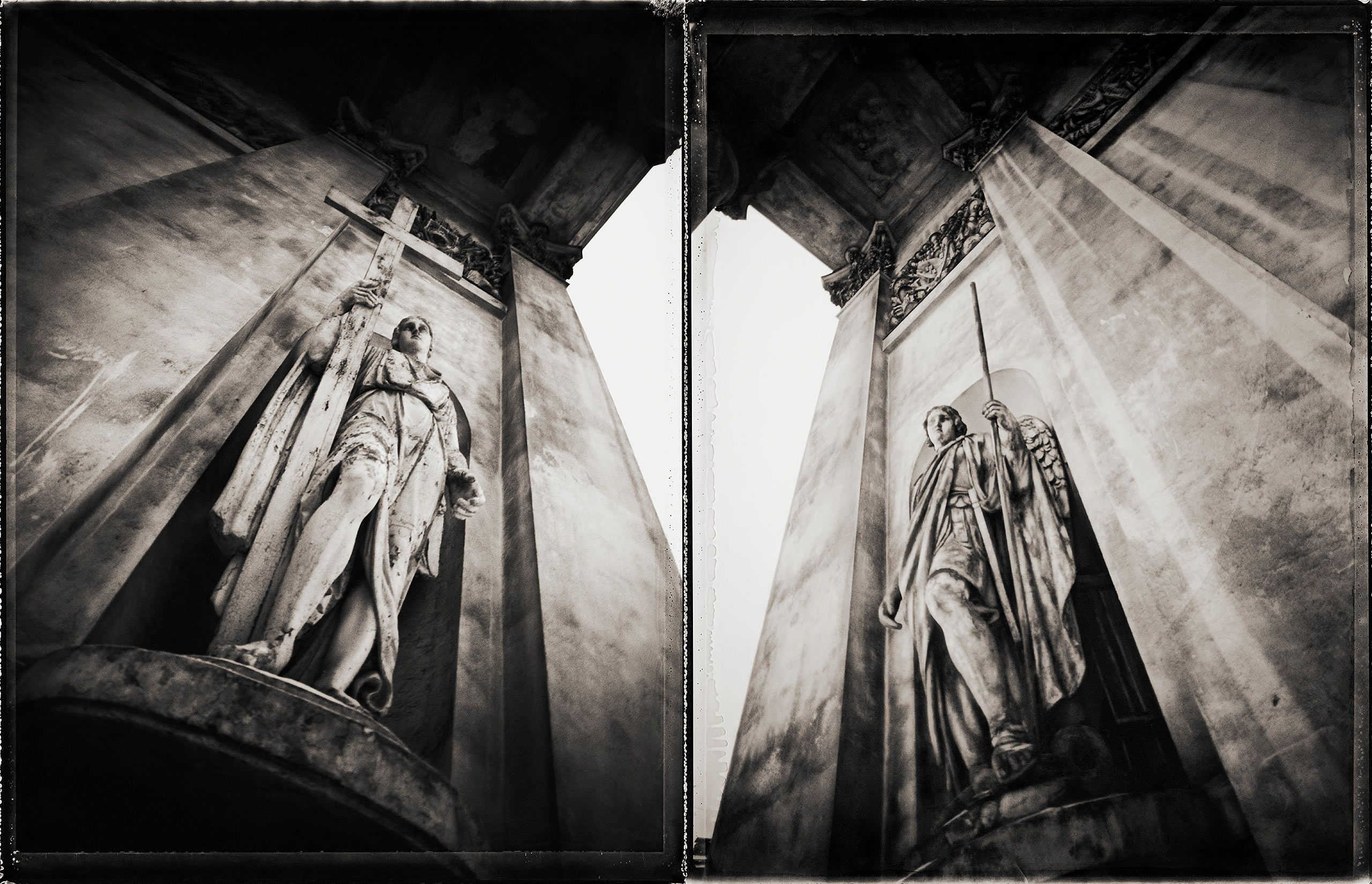 Trinity Statues Diptych