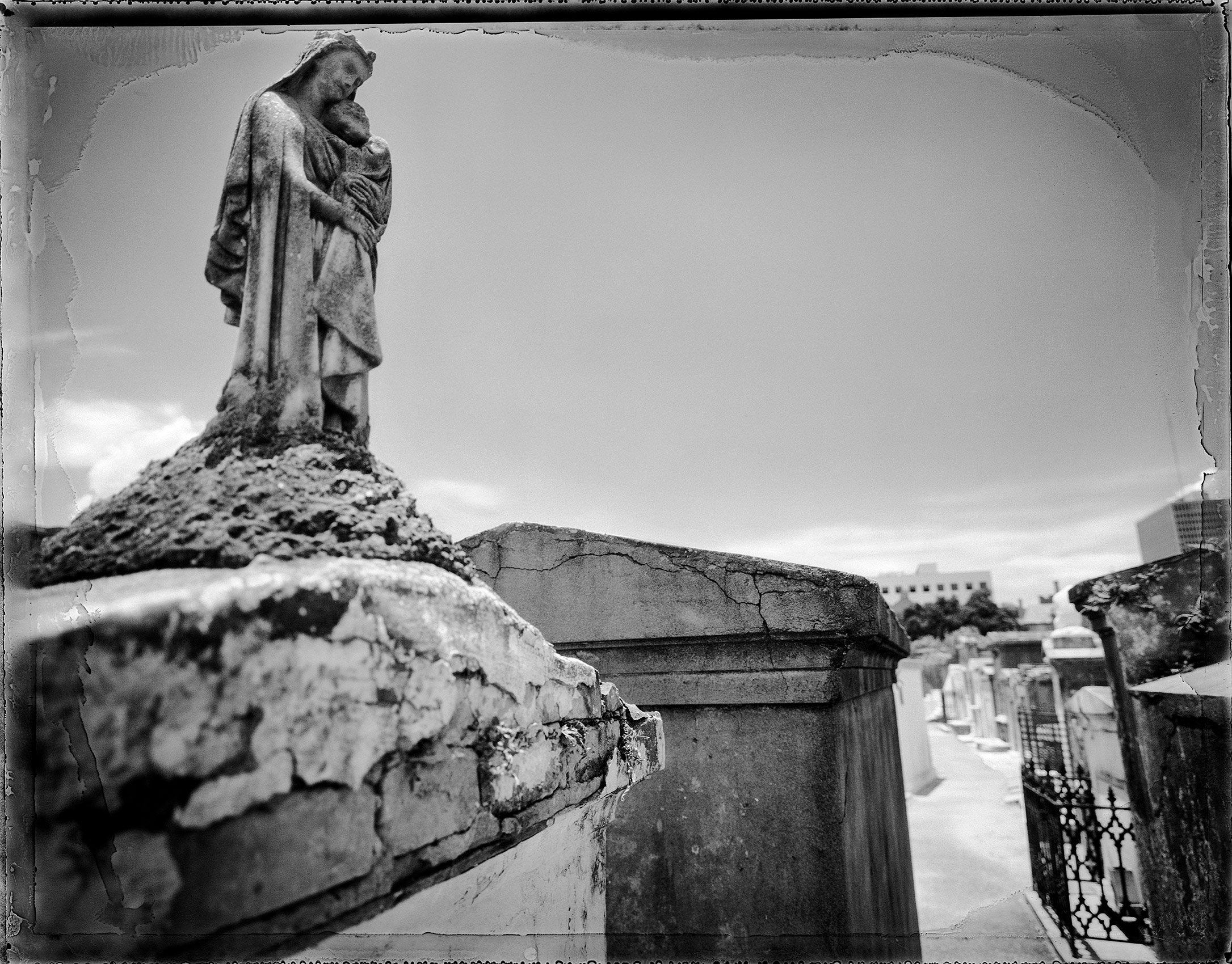 Solemn Statue