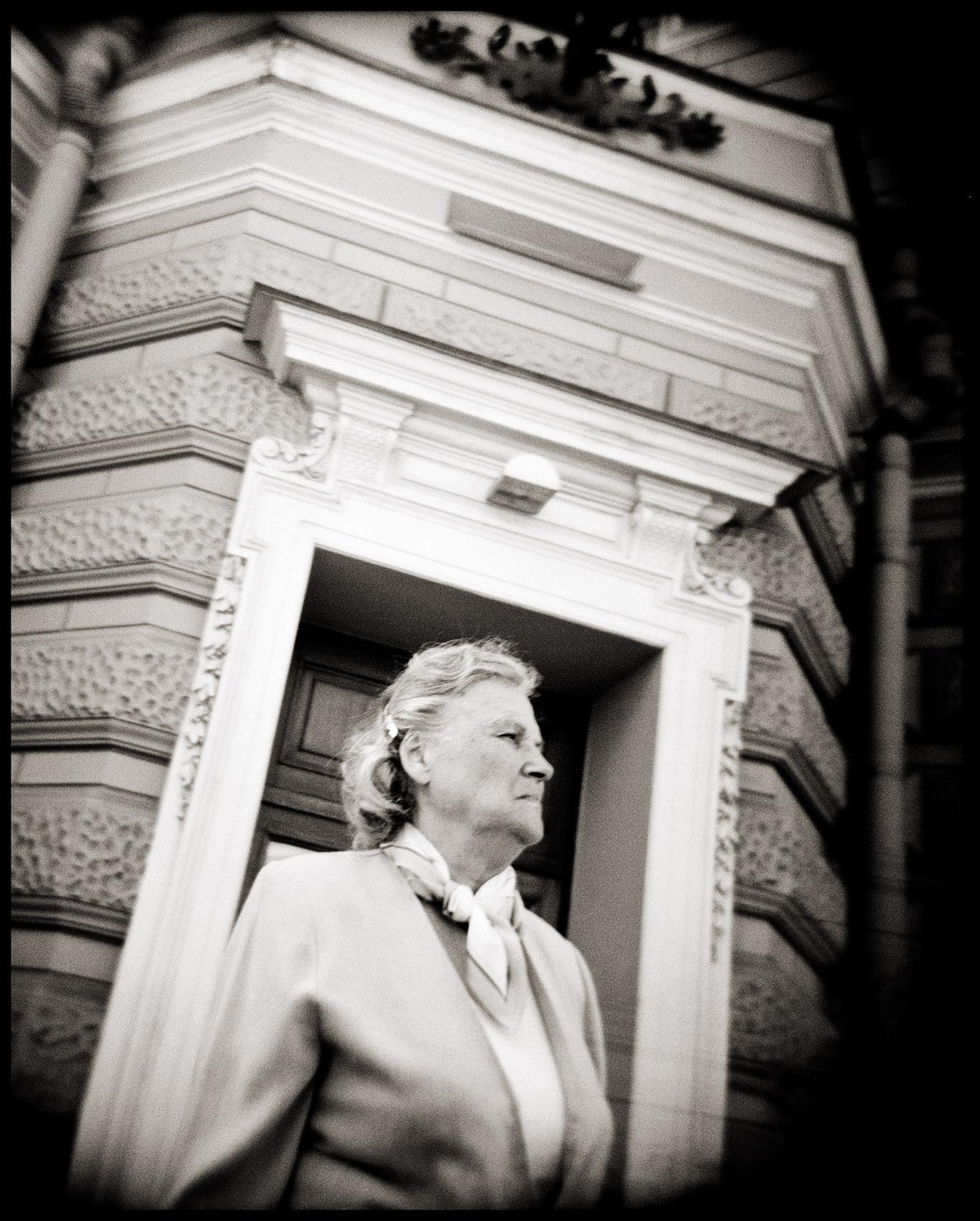 Doorway Woman