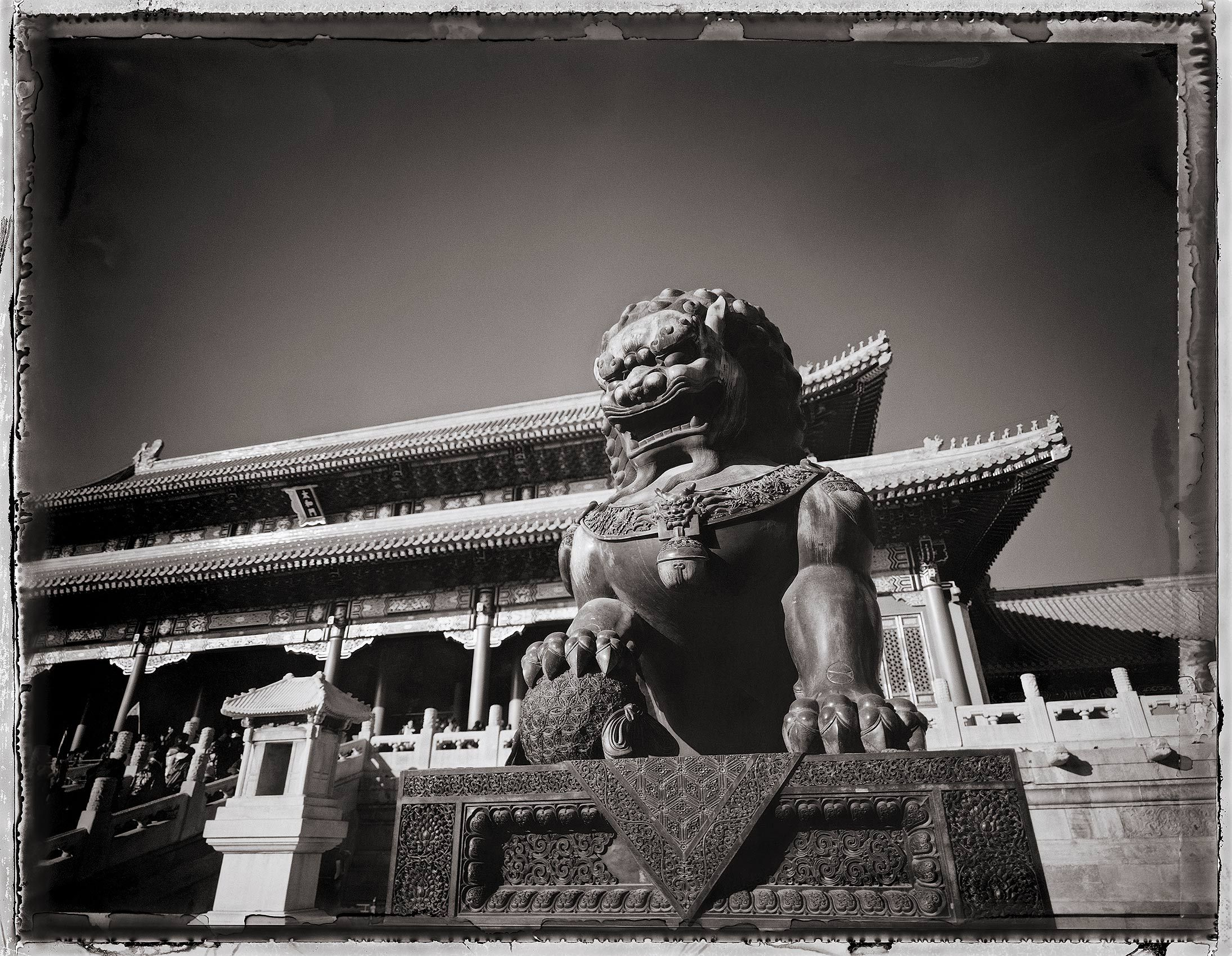 Foo Dog, Forbidden City, Beijing