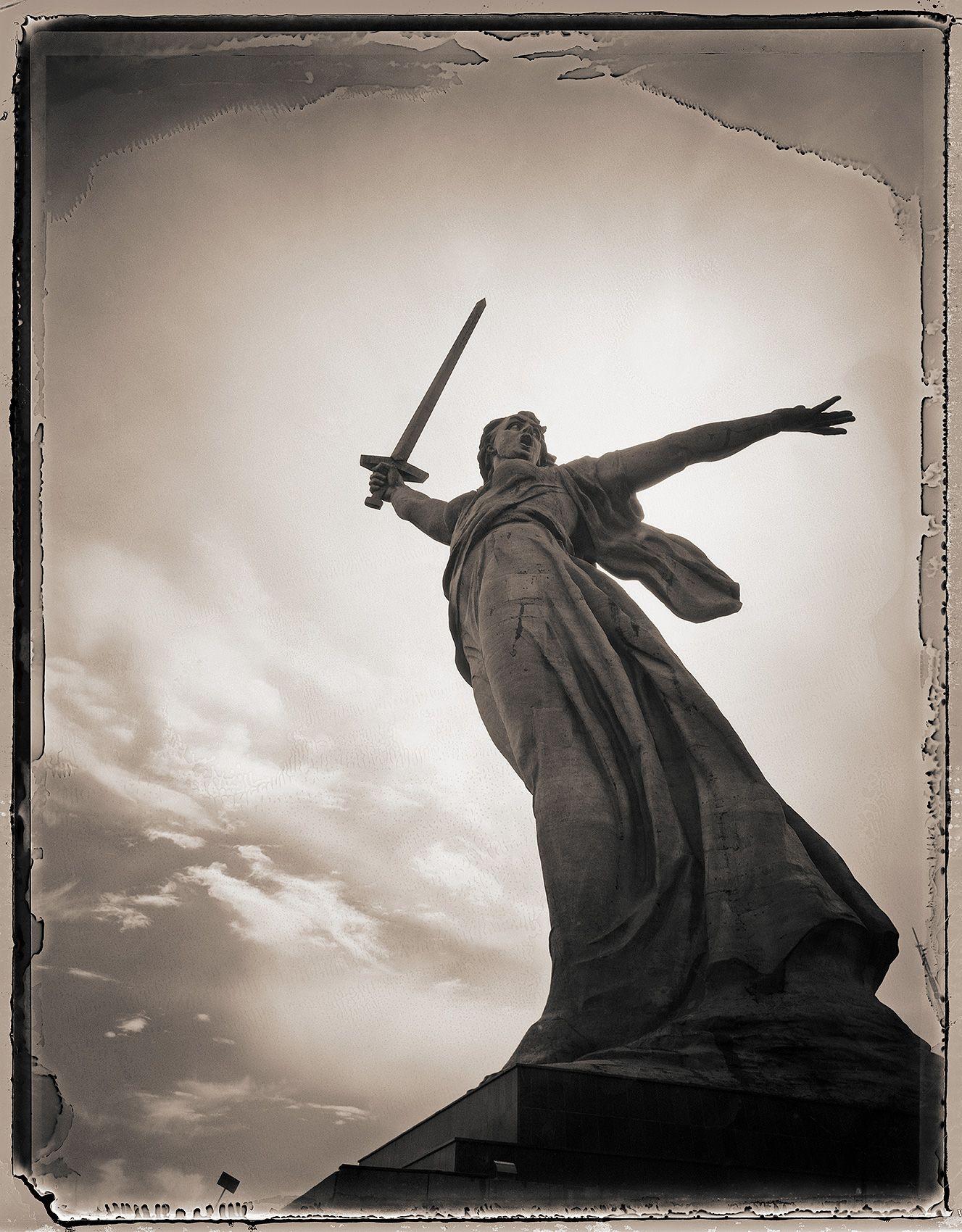 Motherland Calls, Clearing Storm, Volgograd, Russia