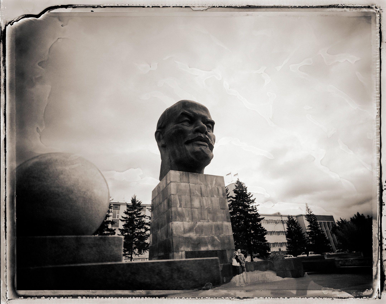 Giant Lenin Head, Ulan-Ude, Russia