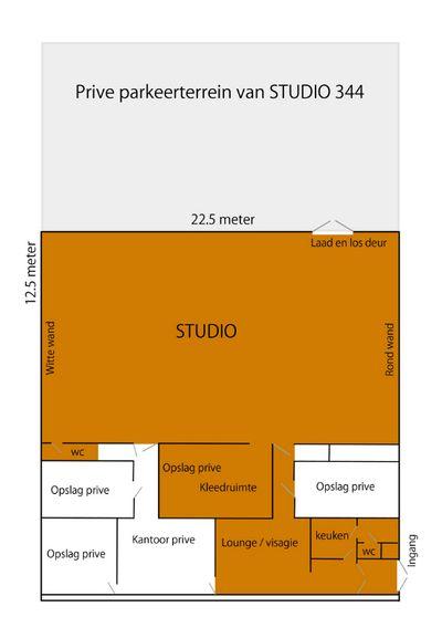 Parkeerterrein Studio 244