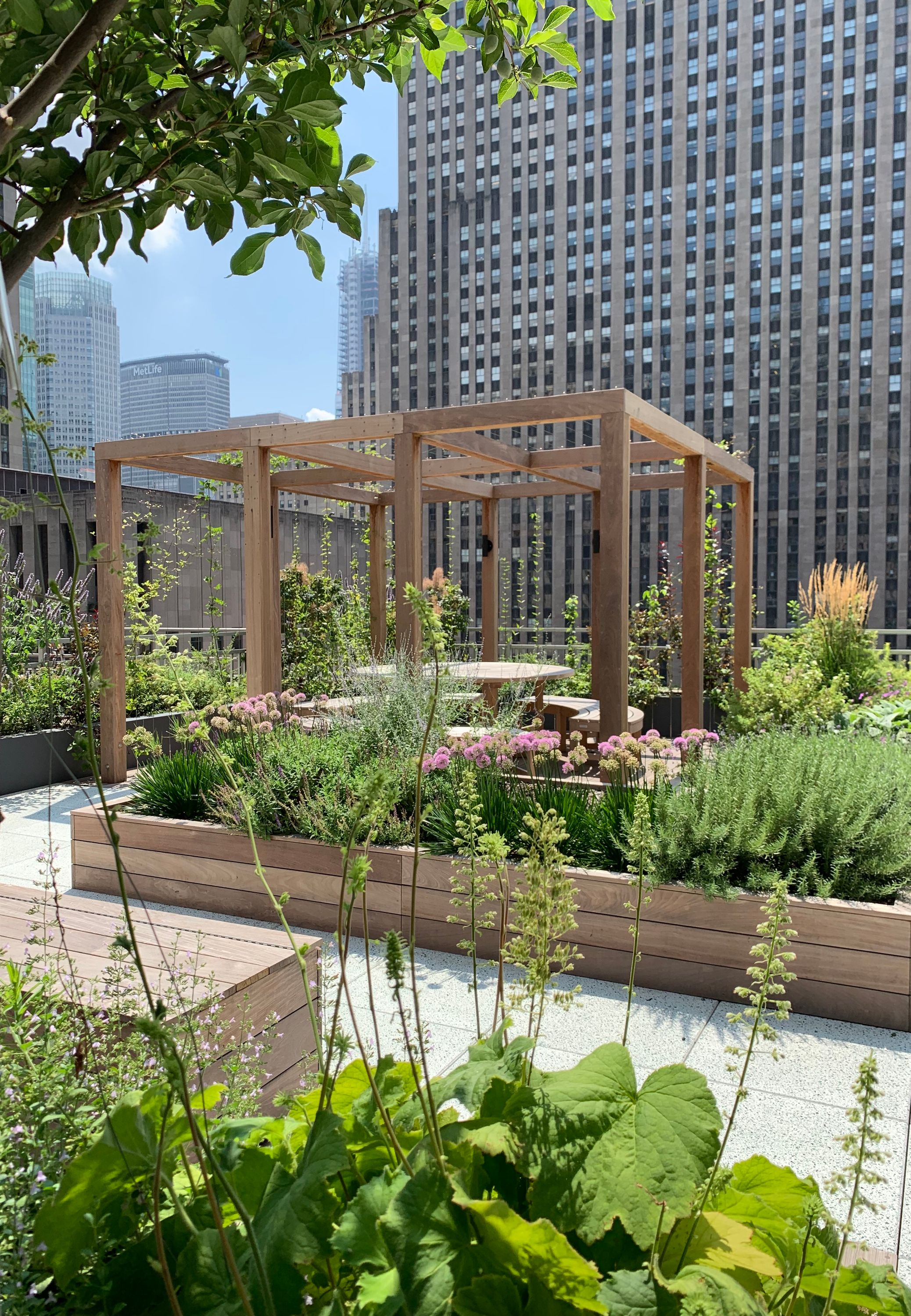 Midtown Oasis - 17th Fl Garden for Law Firm